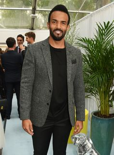 Pin for Later: Hollywood Royalty Mixed With the Brit It Crowd at the Glamour Women of the Year Awards Craig David Craig David, Perfect Music, The Time Is Now, Hollywood, Glamour, British Men, Celebs, Celebrities, Popsugar