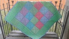 Front of baby quilt.