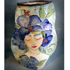 Oh peaceful Sunday's...how I Love you. #largevase #ceramicart #artists #arts #flowers #flowervases #create #glow #femaleartist #potterhead #her #homedecor #peace #serenity #ceramic