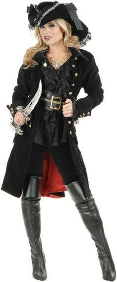 Amazon.com: Pirate Vixen Costume: Clothing