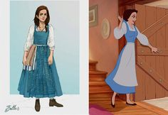 This Concept Art of Emma Watson's Costume for Beauty and the Beast is Perfection | [ http://di.sn/6007BAoD5 ]