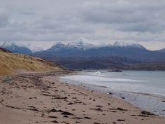 Big Sand is a Sandy beach located near Uig in Highland.No dog restrictions. North Scotland, Scotland Beach, British Beaches, Uk Beaches, Highlands, Great British, Seaside, Big, Water