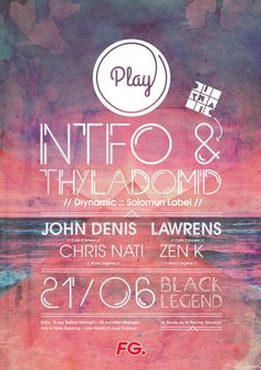 second poster for monaco based party with ntfo and thyladomid ! i did also play logotype. Before Midnight, Monaco, Play, Cover, Movie Posters, Legends, Popcorn Posters, Film Posters, Posters