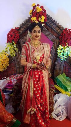 569 Best Bengali bride ///Bengali wedding. images