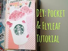 DIY Pocket + Flyleaf Tutorial for my Midori Traveler's Notebook [HD] - YouTube
