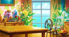 Arrietty - Backgrounds