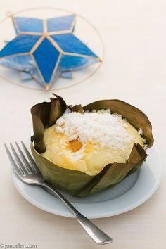 Bibingka..using a combo of rice flour and glutinous rice flour...