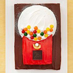 Gum-Ball Machine Cake