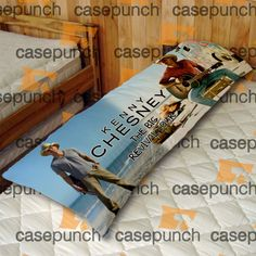 An4-kenny Chesney The Big Revival Tour Body Pillow Case
