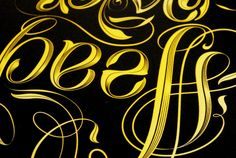 Head over heels - Ambigram Workshop Identity by Ana Gomez Bernaus, via Behance