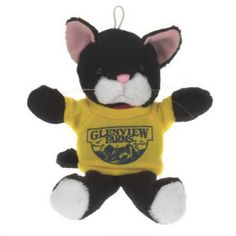 """6"""" Cuddly stuffed animal - Cat. Accessories priced separately. Stuffed Animal, plush toy, stuffed toy, custom."""
