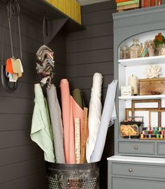 2017 House Of The Year Home Office Fabric Storagesewing