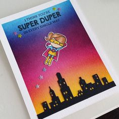 Flying high! #distressinks #distressink #distress #ink #papercrafts #cardmaking #papercrafting #stamping #colors #crafts #crafting #craftingsupplies #craftingmust #sunset #watercolor #watercolour #mamaelephant #heymamaelephant #clearstamps #clearlybesotted