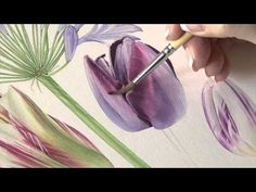 http://www.subscribe.billyshowell.com/ Queen of the Night Tulip This project is one of my favourite flowers and I really hope you will enjoy it. I have tried...