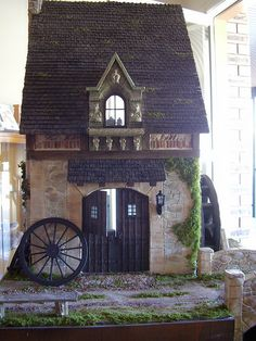 Dollhouses, the world of miniatures.