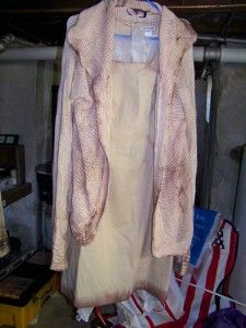 This is an example of a costume I've distressed for an upcoming production I'm doing.