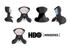 HBO character design by Manuel Martinez Campagna, via Behance