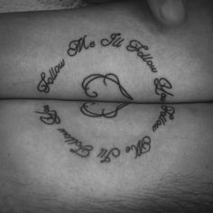 Script Work Connecting Tattoo for 2 people