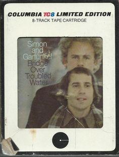 SIMON & GARFUNKEL Bridge Over Troubled Water 8 TRACK TAPE MUSIC ALBUM
