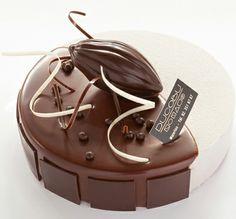 Art de la table - Gâteau aus trois chocolats (by Ducobu, Ambassadeur du Chocolat Belge)