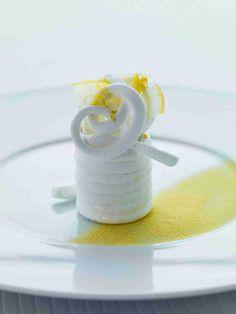 guimauve au vinaigre de citron (Passédat)