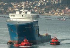 North Sea Giant – The World's Tallest Offshore Construction Vessel (OCV)