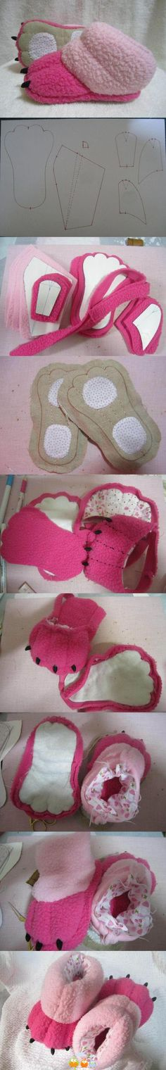 monster slippers