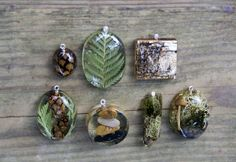 Real Flower Jewelry Flower Jewelry Resin Jewelry Flower Resin jewelry ModernFlowerChild creates beautiful and unique natural looking resin jewelry made with real dried flowers, grasses, foliage and other organic material