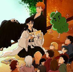 Bleach Manga, Bleach Ichigo And Rukia, Ichigo X Orihime, Bleach Fanart, Bleach Couples, Narusaku, Shinigami, Manga Comics, Anime Ships