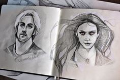 avengers by AndreevaPolina . Character Sketch / Drawing