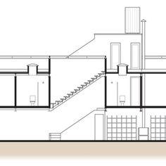 Para driblar as medidas enxutas do lote, os arquitetos investiram numa circulação vertical.