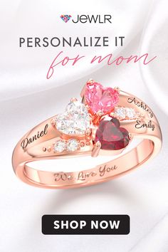 Family is everything and so is a personalized Mother's keepsake. Create the perfect gift for Mom with birthstones and engravings. Handcrafted and sent directly to you at below retail prices. Diy Gifts For Mom, Perfect Gift For Mom, Christmas Gifts For Mom, Simple Gifts, Easy Gifts, Gifts For Women, Holiday Gifts, Mom Jewelry, Cute Jewelry