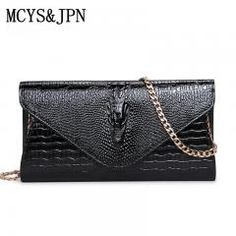 [ 24% OFF ] New Luxury Women Leather Day Clutches Bags Handbags Women Famous Brand Alligator Evening Bags Casual Clutches Wallets