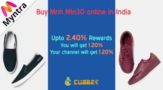 Myntra - Mnh Online India Online shopping for Mnh Min30 in India Also You will get upto 2.4% cashback from cubber.  Download cubber app:- http://cubber.in/app Shop and earn though website:- http://shop.cubber.in  #cubberapp #cashbackoffers #shoppingonline #cubbershop  #ganeshchaturthi #discount #sale #couponcode #onlinestore #cubberin #extraearn #refernearn #shopnearn
