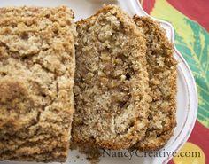 Cinnamon Streusel Banana Bread | NancyCreative