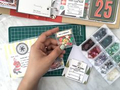 Hold On To The Holidays: A Memory Keeping Workshop  #projectlife #stamps #clearstamps #scrapbook #pocketscrapbooking #scrapbooking #stationeryaddict #craftspace