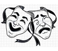 drama and comedy masks - Bing images
