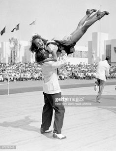 News Photo : Hepcats James Brennan and Tessie Fekan swing out...