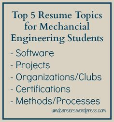 10 Best Mechanical Engineer Resume Templates & Samples