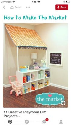 Toddler Playroom Ideas Corner Nook Stage And Puppet
