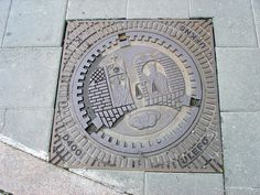 Manhole Cover, Trondheim, Norway