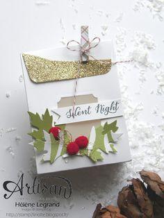 Stamp 2 LiNotte: Les festivités de Noël sont ouvertes - Stampin' Up ! Artisan Blog Hop - Octobre #4