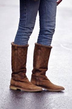 Gucci Boots. Hey, a girl can dream...