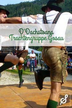 D'Dachstoana sind ein Verein aus dem Gosautal. Gemeinsam treten sie auf Heimatabenden auf und führen beliebte Schuhplattler und Tänze vor. Neben der Pflege des Brauchtums zählt für die jungen Mitglieder aber auch Freundschaft und Anerkennung.  Mehr Informationen zu dem Verein gibt es auf unserem Blog www.salzdirndl.com! Character Shoes, Dance Shoes, Wrestling, Sports, Blog, Friendship, Boys, Nursing Care, People