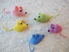 Маленькая мышка Little Mouse Crochet - YouTube | вяжем крючком | Постила