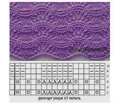 Схемки для вязания спицами