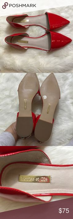 Louise et Cie Arlette D'orsay Flats Size 9M NWOT Super cute flats. New without box or tag. Originally $128. Size 9M. sorry no trades! Offers are absolutely welcome 😊 Louise et Cie Shoes Flats & Loafers