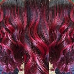 ruby red amazing hair color