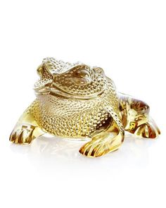 """""""Gregoire""""+Frog+by+Lalique+at+Neiman+Marcus."""