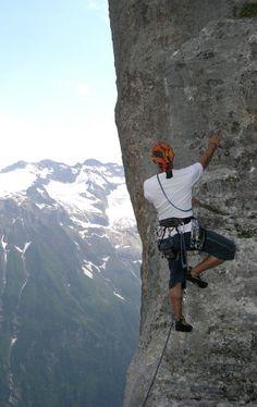 Lenny steigt locker in Engelberg, Locker, Mount Everest, Mountains, Nature, Travel, Photo Illustration, Naturaleza, Viajes